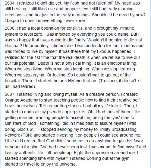 Kenny Brandmuse Discloses His HIV Status, Gives Soul Lifting Message (3/6)