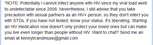 Kenny Brandmuse Discloses His HIV Status, Gives Soul Lifting Message (5/6)